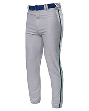 A4 NB6178 Boys Pro Style Elastic Bottom Baseball Pant at GotApparel