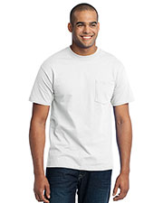 Port & Company PC55PT Men Tall 50/50 Cotton/Poly T-Shirt With Pocket at GotApparel