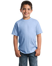 Port & Company PC55Y Boys 50/50 Cotton/Poly T-Shirt at GotApparel