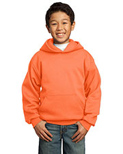 Port & Company PC90YH Boys Pullover Hooded Sweatshirt at GotApparel