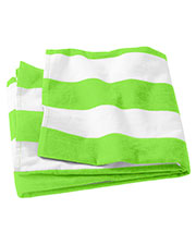 Port Authority PT43 Unisex Cabana Stripe Beach Towel at GotApparel