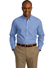 Red House RH70 Adult Windowpane Plaid Non-Iron Shirt at GotApparel