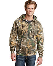 Russell Outdoor RO78ZH Adult Men Realtree FullZip Hooded Sweatshirt at GotApparel
