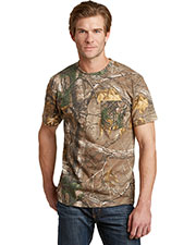 Russell Outdoor™ S021R Adult Realtree® Explorer 100% Cotton T-Shirt With Pocket at GotApparel