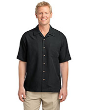 Port Authority S536 Men Patterned Easy Care Camp Shirt at GotApparel