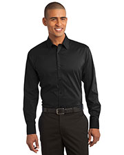 Port Authority S646 Men Stretch Poplin Shirt at GotApparel