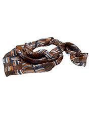 Edwards SC53 Women Checkerboard Chiffon Scarf at GotApparel