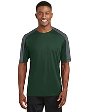 Sport-Tek® ST354 Adult PosiCharge® Competitor Sleeveblocked Tee at GotApparel