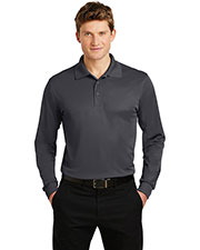 Sport-Tek® ST657 Men Long-Sleeve Micro Pique Sportwick Polo at GotApparel