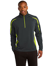 Sport-Tek® ST851 Men Sportwick Stretch 1/4-Zip Colorblock Pullover at GotApparel