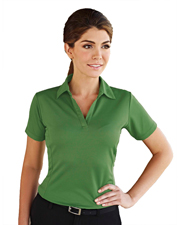 Tri-Mountain 401 Women Saratoga Short Sleeve Knit Polo Shirt at GotApparel