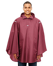 Team 365 TT71 Men Stadium Packable Poncho at GotApparel