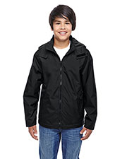 Team 365 TT72Y Boys Conquest Jacket with Fleece Lining at GotApparel