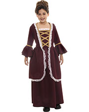 Halloween Costumes UR26230LG Women Colonial Girl Large at GotApparel
