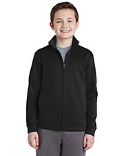 Sport-Tek® YST241 Boys Fleece Full-Zip Jacket at GotApparel