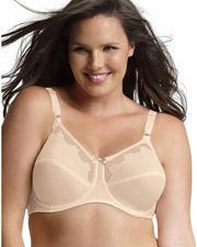 Bali 0180 Women Flower Underwire Bra at GotApparel