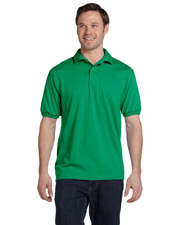 Hanes 054  Stedman 50/50 Jersey Polo at GotApparel