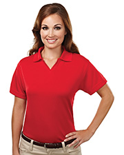 TRI-MOUNTAIN PERFORMANCE 104 Women Ambition Poly Ultracool Mesh Johnny Collar Golf Shirt