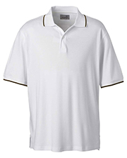 Ashworth 1114C  Mens Performance Wicking Blend Polo at GotApparel