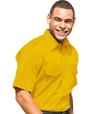 Edwards 1215   Men Short Sleeve Safari Shirt at GotApparel