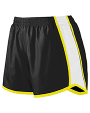 Augusta Drop Ship 1266 Girl's Jr. Fit Pulse Team Short