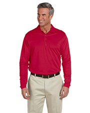 Ashworth 1352  Men's EZ-Tech Long-Sleeve Polo at GotApparel