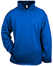 Badger 1480     1/4 Zip Poly Fleece Pullover  at GotApparel