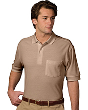 Edwards 1505 Unisex Pique Polo Short-Sleeve With Pocket at GotApparel