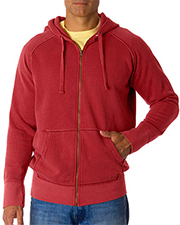Chouinard Adult Heavyweight Frayed Full-Zip Hooded Sweatshirt