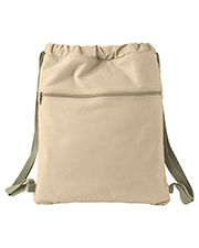 Authentic Pigment 1901  Canvas Cinch Sack at GotApparel