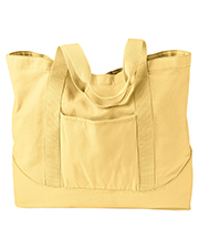 Authentic Pigment 1904  Large Canvas Tote at GotApparel