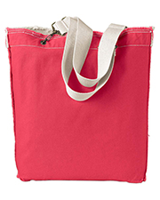 Authentic Pigment Raw-Edge Tote