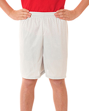 Badger 2207  Youth Mesh/Tricot 6-Inch Short at GotApparel