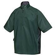 Tri-Mountain 2610   Adult Icon-Windproof/Water Resistant 1/2 Zip Short Sleeve Windshirt at GotApparel
