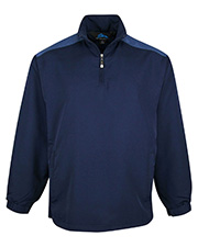 Tri-Mountain 2650   Adult Parkview-Windproof/Water Resistant 1/4 Zip Long Sleeve Windshirt at GotApparel