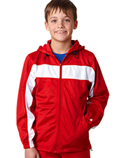 Badger 2705  Youth Hood Tricot Jacket.  at GotApparel