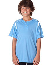 Badger 2937  Youth B-Dry Pro Placket at GotApparel