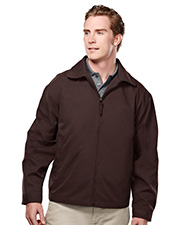 Tri-Mountain 2990 Men's Avenue Soft Twill Long Sleeve Jacket With Nylon Lining
