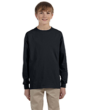 Jerzees 29BL Boys 5.6 oz., 50/50 Heavyweight Blend LongSleeve T-Shirt at GotApparel