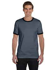 Canvas 3055C  Robertson Heather Ringer T-Shirt at GotApparel