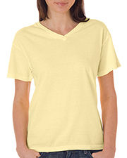 Chouinard 3099   Women Comfort Colors Ladies' V-Neck Tee at GotApparel