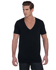 Canvas 3105  Unisex Deep V-Neck at GotApparel