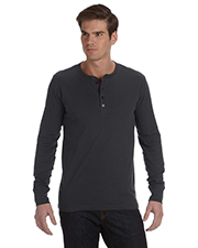 Canvas 3150  Mens Long-Sleeve Henley at GotApparel