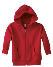 Rabbit Skins 3346 Toddlers Full-Zip Hoodie