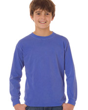 Chouinard 3483   Boys Comfort Colors Youth Long-Sleeve Tee at GotApparel