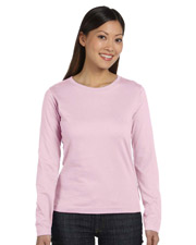 LAT 3588 Womens Ringspun Long-Sleeve T-Shirt at GotApparel