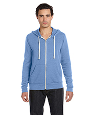 Canvas 3909  Unisex Triblend Sponge Fleece Full-Zip Hoodie at GotApparel