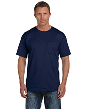 Fruit of the Loom 3931P Men 5 oz., 100% Heavy Cotton HD Pocket TShirt