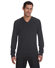 Bella + Canvas 3985 Unisex V-Neck Lightweight Sweater at GotApparel