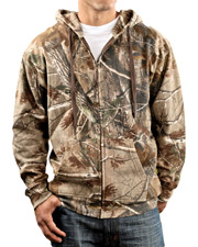 Code V Men's Camo Full-Zip Hood. 3989